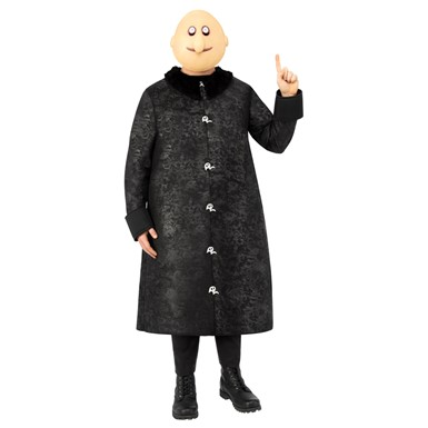 Adult Uncle Fester Addams Family Halloween Costume