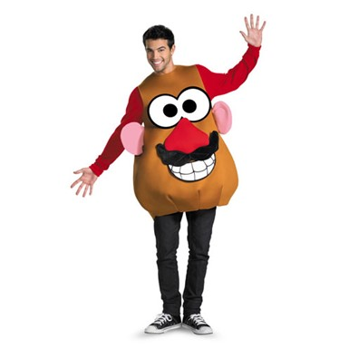 Adult Unisex Potato Head Costume Standard Size 42-46
