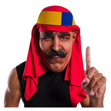 Adult WWE Iron Sheik Overhead Latex Halloween Mask
