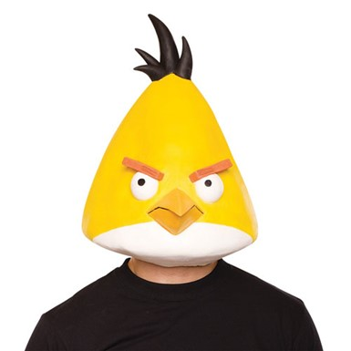 Angry Birds Yellow Bird Mask Halloween Accessory