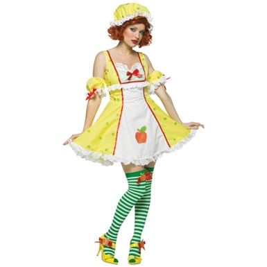 Apple Dumpling Womens Strawberry Shortcake Costume