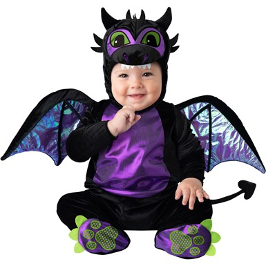 Baby Black Dragon Medieval Halloween Costume