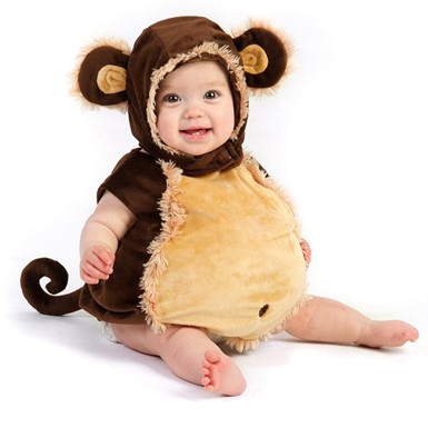 Baby Boy Monkey Halloween Costume  sc 1 st  Costume Kingdom & Baby Costumes u2013 Bunting and Swaddle Halloween Costumes