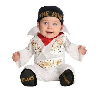Baby Elvis Onesie The King Halloween Costume