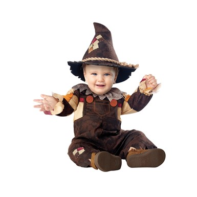 Baby Happy Harvest Scarecrow Infant Halloween Costume