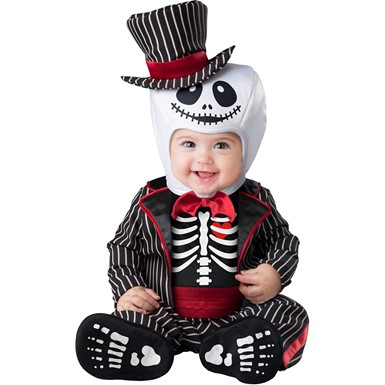 Baby Lil Skeleton Halloween Costume