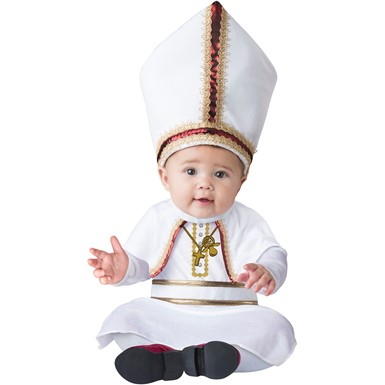 Baby Pint Sized Pope Religious Costume