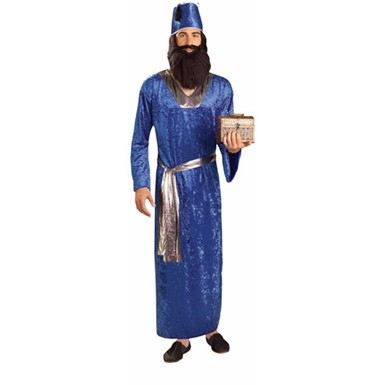 Biblical Blue Wiseman Halloween Costume for Adults