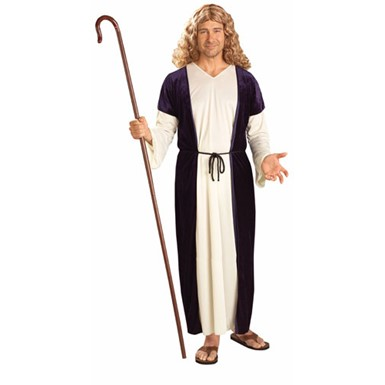 Biblical Sheperd Halloween Costume for Adults