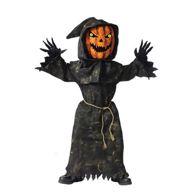 Bobble Head Pumpkin King Child Halloween Costume