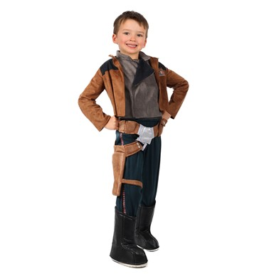Boys A Star Wars Story Han Solo Costume