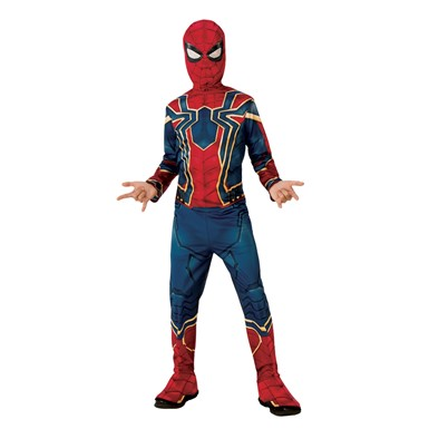Boys Avengers Infinity War Spiderman Costume