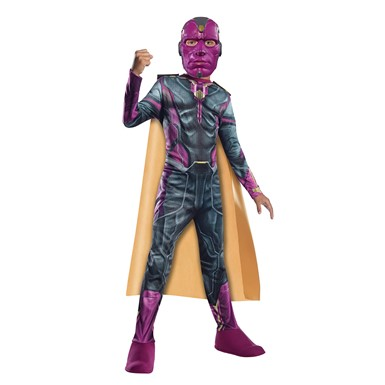 Boys Avengers Vision Child Halloween Costume