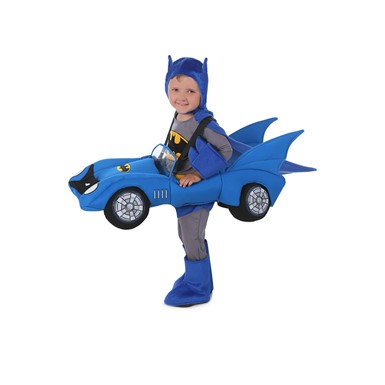 Boys Batman Ride-In Batmobile Halloween Costume size 2T-4T