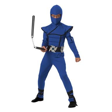 Boys Blue Stealth Ninja Halloween Costume  sc 1 st  Costume Kingdom & International Costumes for Kids | German Egyptian Asian Costumes ...