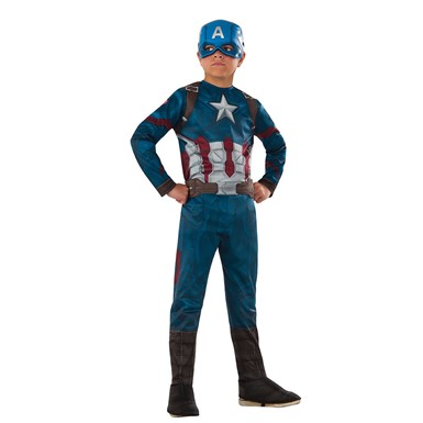 Boys Civil War Captain America Halloween Costume