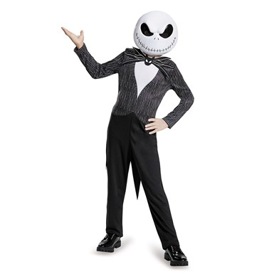 Boys Classic Jack Nightmare Before Xmas Costume