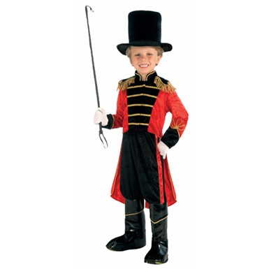 Boys Deluxe Circus Ring Master Halloween Costume
