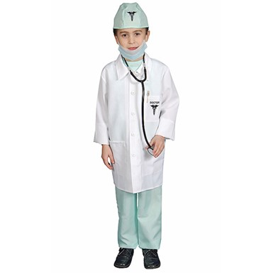 Boys Deluxe Doctor Halloween Costume