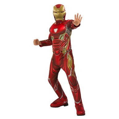 Boys Deluxe Iron Man Avengers Infinity War Costume