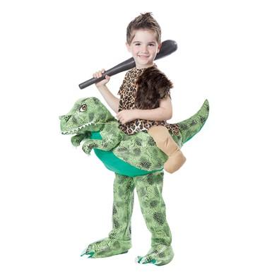 boys dino rider halloween costume size ml 3t 6t