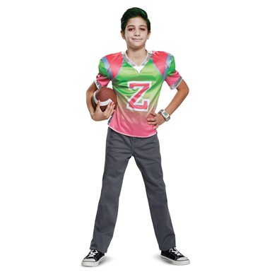 Boys Disney Zombies Zed Football Jersey Costume
