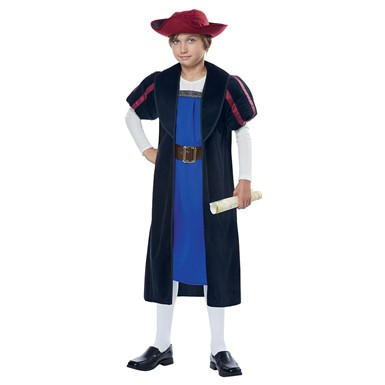 Boys Explorer Christopher Columbus Halloween Costume