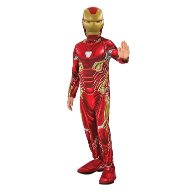 Boys Iron Man Avengers Infinity War Costume
