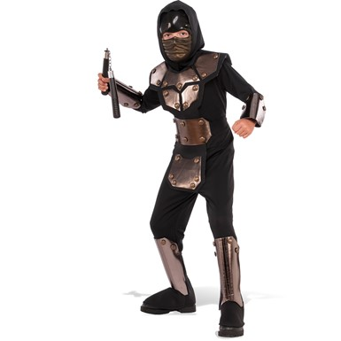 Boys Iron Phantom Ninja Halloween Costume