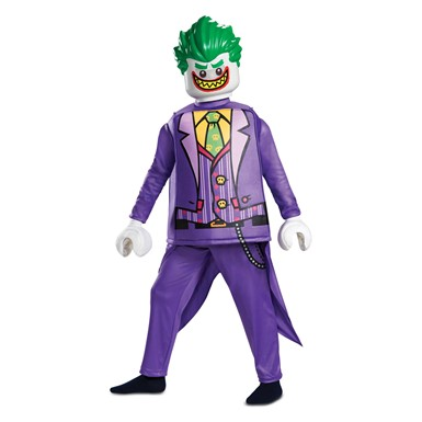 Boys LEGO Batman Joker Deluxe Halloween Costume