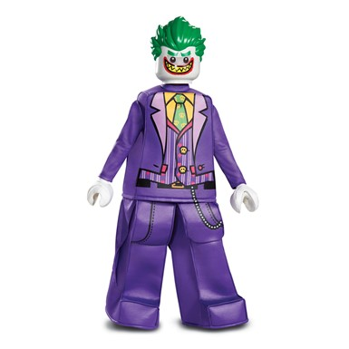 Boys LEGO Batman Joker Prestige Halloween Costume