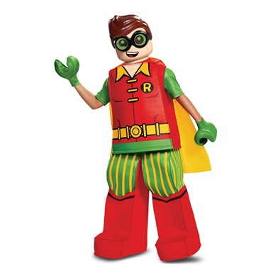 Boys LEGO Batman Robin Prestige Halloween Costume