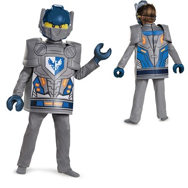 Boys LEGO Deluxe Nexo Knights Clay Costume