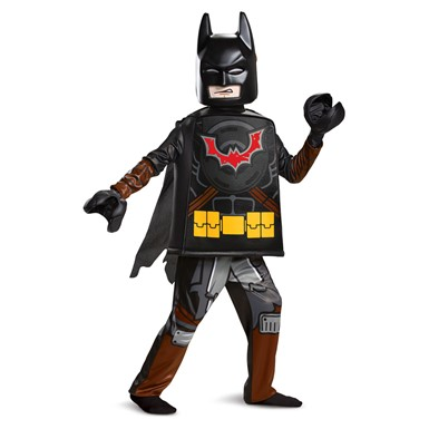Boys LEGO Movie 2 Batman Deluxe Superhero Costume