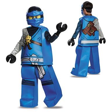 Boys LEGO Ninjago Prestige Jay Halloween Costume  sc 1 st  Costume Kingdom & Boys Ninjago Prestige Jay Costume u2013 LEGO Halloween Costumes