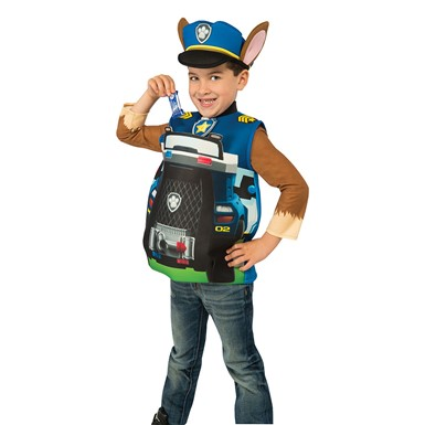 Boys PAW Patrol Chase Candy Catcher Costume