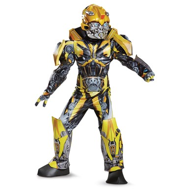 Boys Prestige Bumblebee Transformers Costume  sc 1 st  Costume Kingdom : bubblebee costume  - Germanpascual.Com