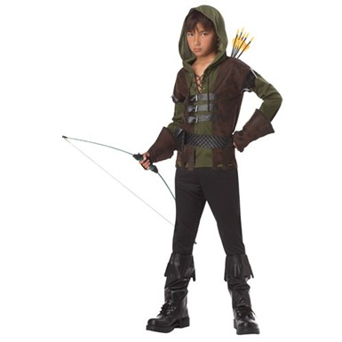 Boys Robin Hood Archer Kids Halloween Costume