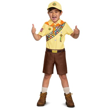 Boys Russell Classic UP Wilderness Explorer Costume