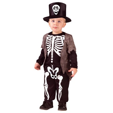 Boys Skeleton Classic Halloween Costume