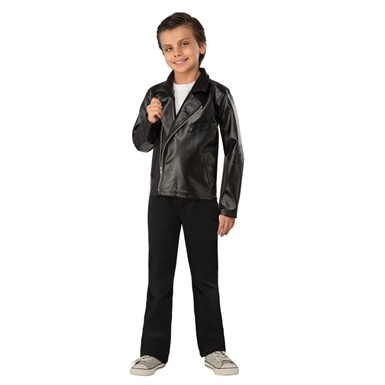 Boys T-Bird Jacket Grease Halloween Costume