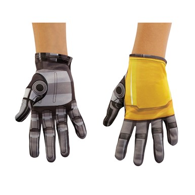 Boys Transformers Bumblebee Movie Costume Gloves