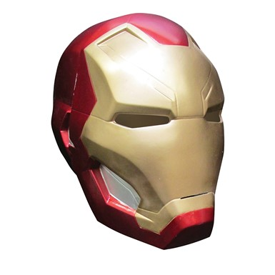 Boys Two Piece Iron Man Helmet Mask