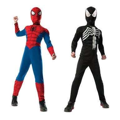 Boys Ultimate Reversible Spider-Man Halloween Costume