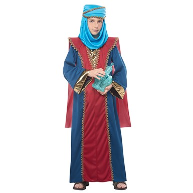 Boys Wise Man Balthasar Biblical Magi Costume