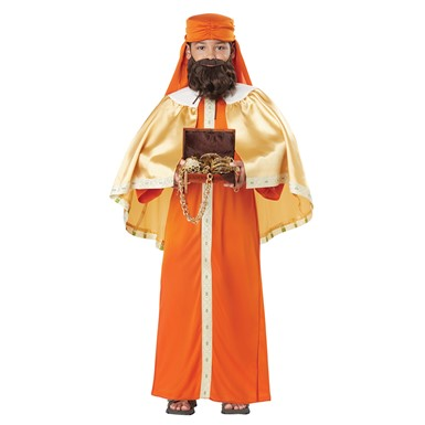 Boys Wise Man Gaspar Biblical Magi Costume
