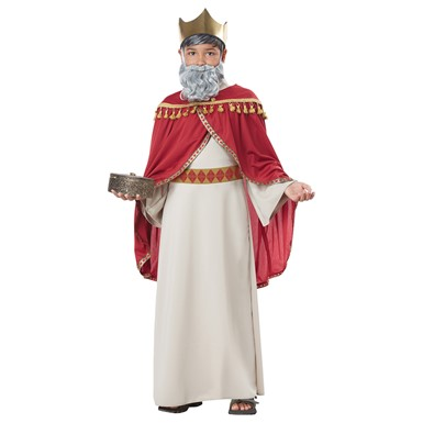 Boys Wise Man Melchior Biblical Magi Costume