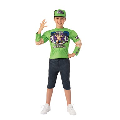Boys WWE Deluxe John Cena Child Halloween Costume