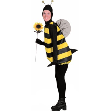 Bumble Bee Funny Adult Womens Halloween Costume
