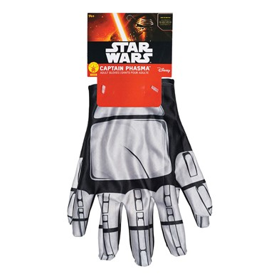 Captain Phasma Gloves Mens Star Wars Gauntlets